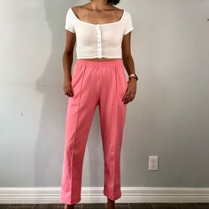 Late 70's pink pants